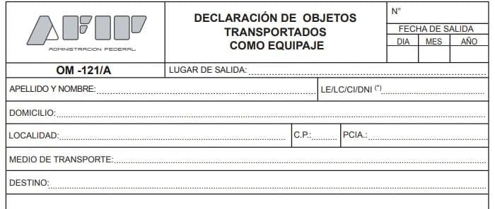 apartado 1 formulario 121
