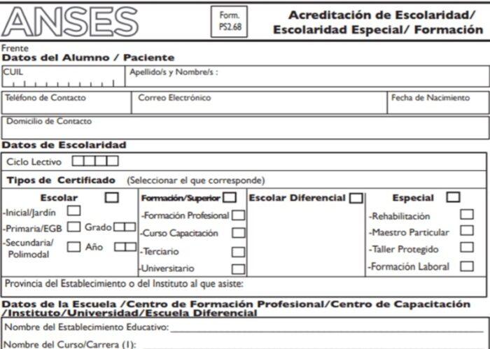 ¿Cómo llenar el formulario
